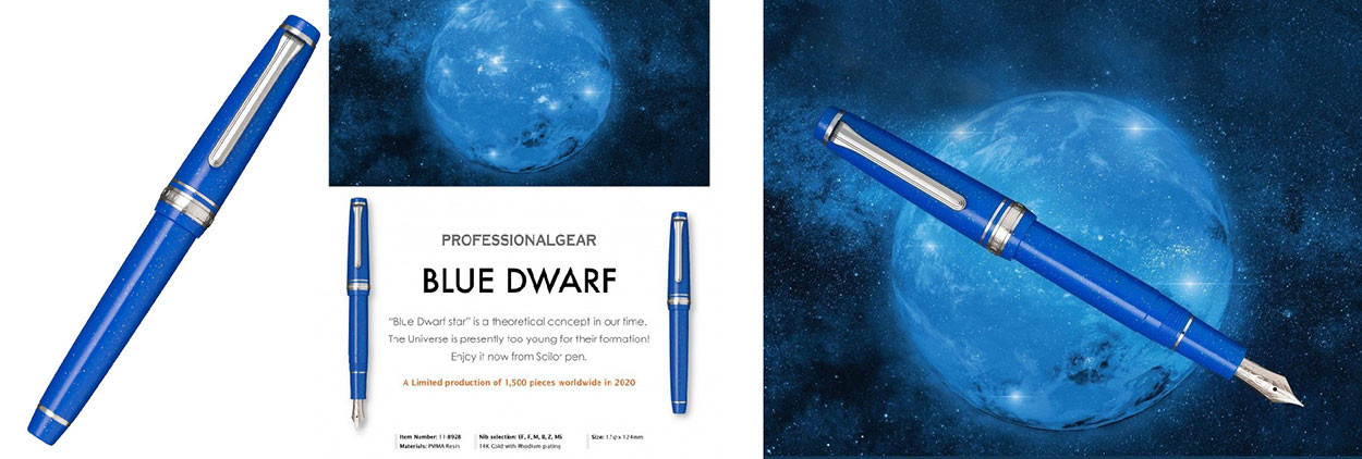 Sailor Pro Gear Slim  - Blue Dwarf Fountain pen